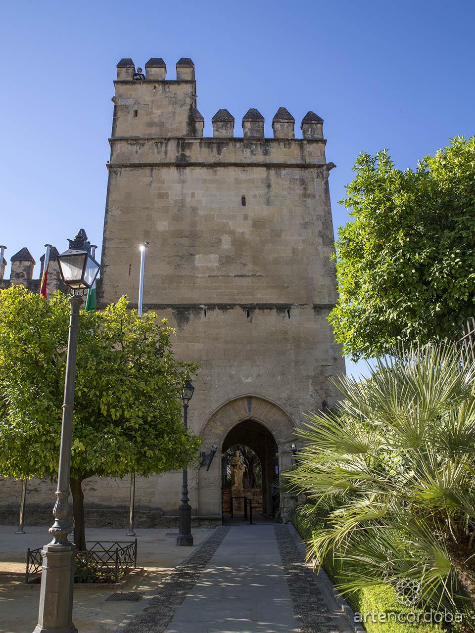 Main door of the Christian Monarchs Alcazar